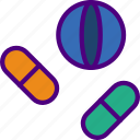 cure, doctor, medical, medicine, pharmacy, pills icon