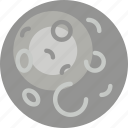 exploration, moon, nasa, rocket, space, universe icon