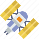 exploration, nasa, rocket, space, telescope, universe icon
