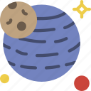 exoplanet, exploration, nasa, rocket, space, universe icon