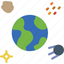 earth, exploration, nasa, rocket, space, universe icon