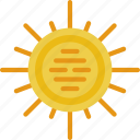 exploration, nasa, rocket, space, sun, universe icon