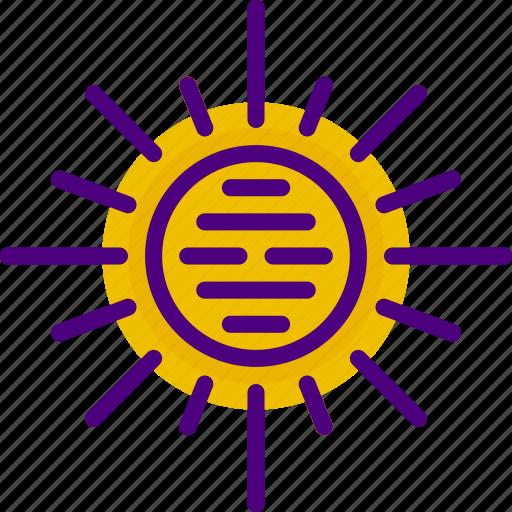 exploration, nasa, rocket, space, sun, universe icon