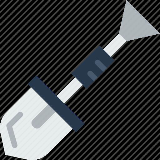appliance, carpentry, device, instrument, shovel, work icon