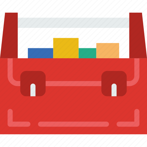 appliance, carpentry, device, instrument, toolbox, work icon