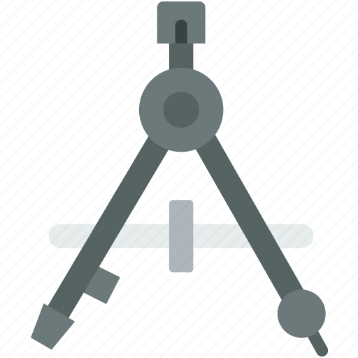appliance, carpentry, compass, device, instrument, work icon