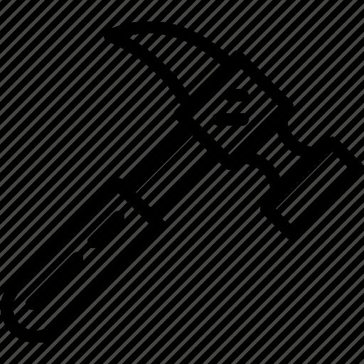 appliance, carpentry, device, hammer, instrument, work icon