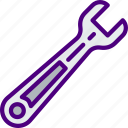 appliance, carpentry, device, instrument, work, wrench icon