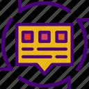 code, internet, message, seo, web icon