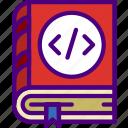 code, coding, internet, manual, seo, web icon
