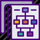 blueprint, code, diagram, internet, seo, web icon