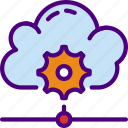 cloud, code, internet, seo, settings, web