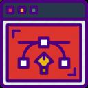 code, design, internet, seo, web icon