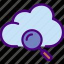 cloud, code, internet, search, seo, web icon