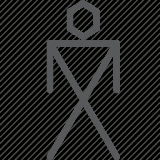 ancient, art, cave, human, man, prehistoric, primitive, sign icon