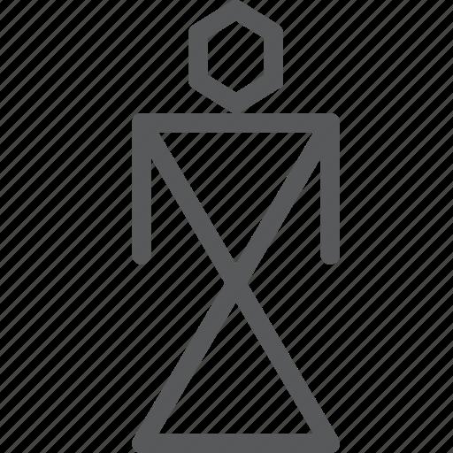 ancient, art, cave, human, prehistoric, primitive, sign, woman icon