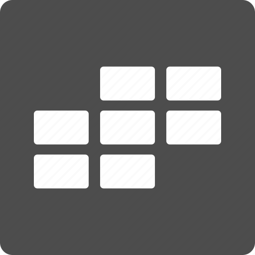 appointment, calendar grid, data, plan, rectangular cells, schedule, time table icon