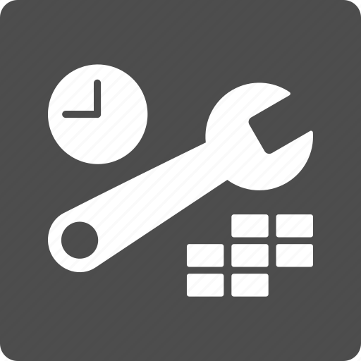 calendar tools, clock tuning, configuration, date, hour control, settings, time options icon