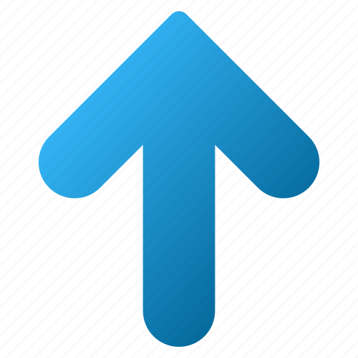 arrow up, grow, growth, increase, move, update, upload icon