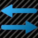 arrows, exchange, flip, flipping, horizontal, mirror, swap