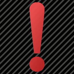 alert, attention, danger, dangerous, error, exclamation sign, hazard icon