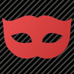 carnival, comedy, face, humor, masquerade, privacy mask, theater icon