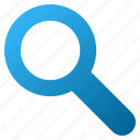 find, look, magnifier, magnifying glass, search, view, zoom