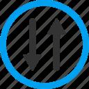 arrows, exchange, vertical, refresh, replace, swap, update