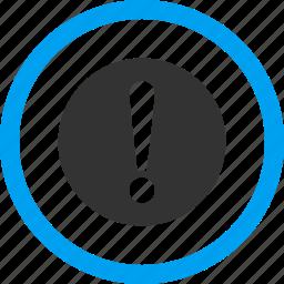 alarm, alert, attention, danger, error, exclamation, problem icon