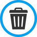 container, garbage, recycle, rubbish, trash bin, trashcan, waste icon
