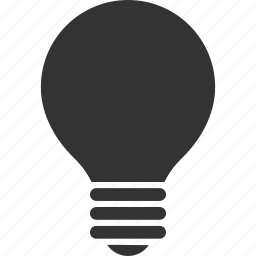 electric bulb, electricity, energy, hint, lamp, light, power icon