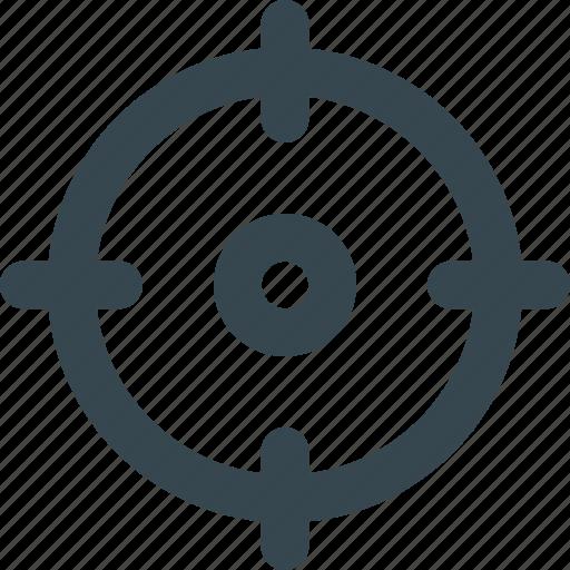 adjustment, aim, alignment, calibration, guide, target icon