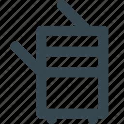 copy, machine, office, paper, printer icon
