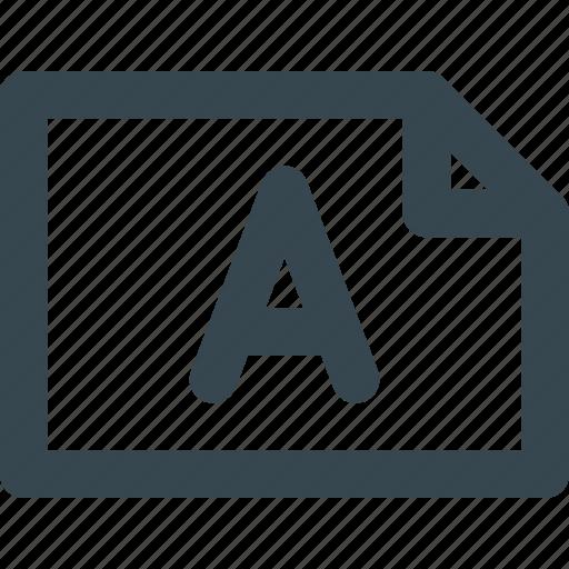 arrangement, landscape, paper, printing, settings icon