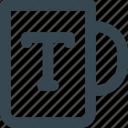 branding, design, logo, merchandise, mug, print icon