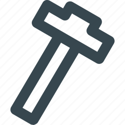 measurement, measuring, precision, ruler, t-ruler icon