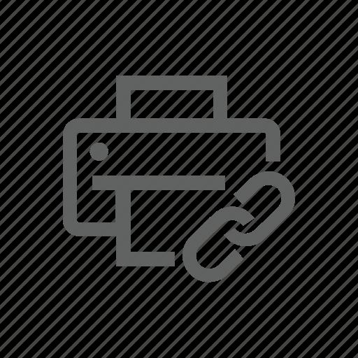 attach, attachment, clip, enclosement, link, paper clip, printer icon