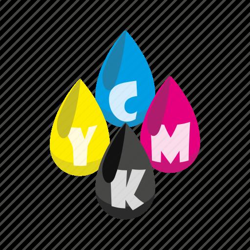 cartoon, cmyk, color, ink, print, printer, profile icon