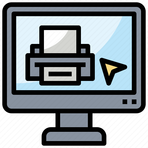 Computer, paper, print, printer, printing, technology icon - Download on Iconfinder