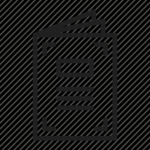 Bildergebnis für brochure icon