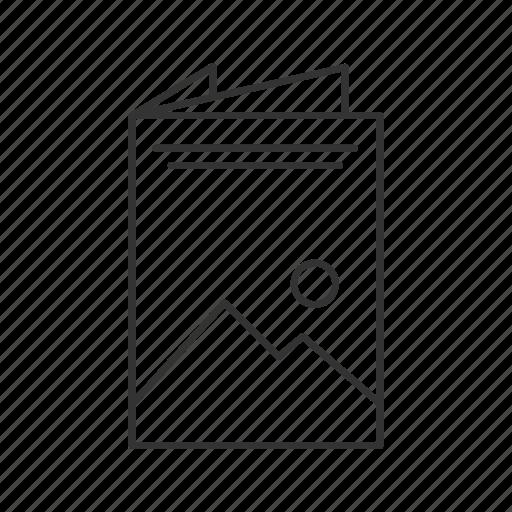 Booklet, brochure, flyer, leaflet, paper, print, printing icon - Download on Iconfinder