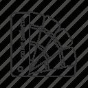 color, design, paint, palette, print, sample, swatch icon