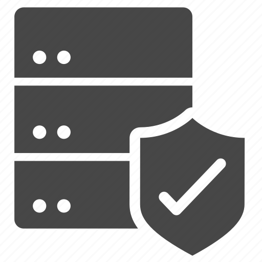 cached, data, database, policy, privacy, protection, security icon