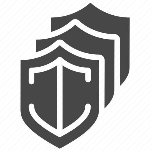 lock, policy, privacy, secure, security, triple icon