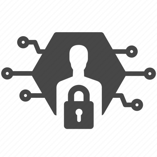 data, digital, id, password, policy, privacy, security icon