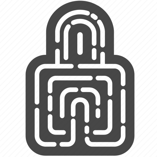 digital, id, padlock, password, policy, privacy, security icon
