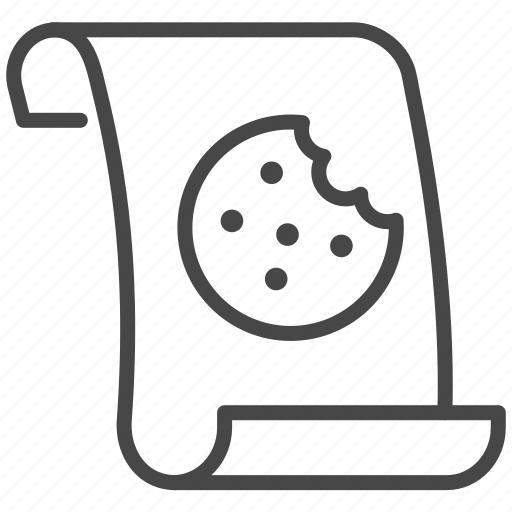 cookies, data, policy, privacy, security icon