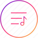 audio setting, configuration, control, music, player, preferences, settings icon