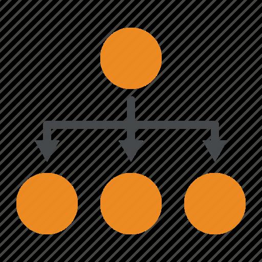 procedure, process, structure icon