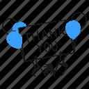 thank, you, product, thankful, woman, public, gratitude icon